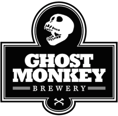 ghost monkey brewery logo