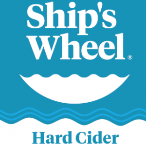 ships wheel hard cider logo