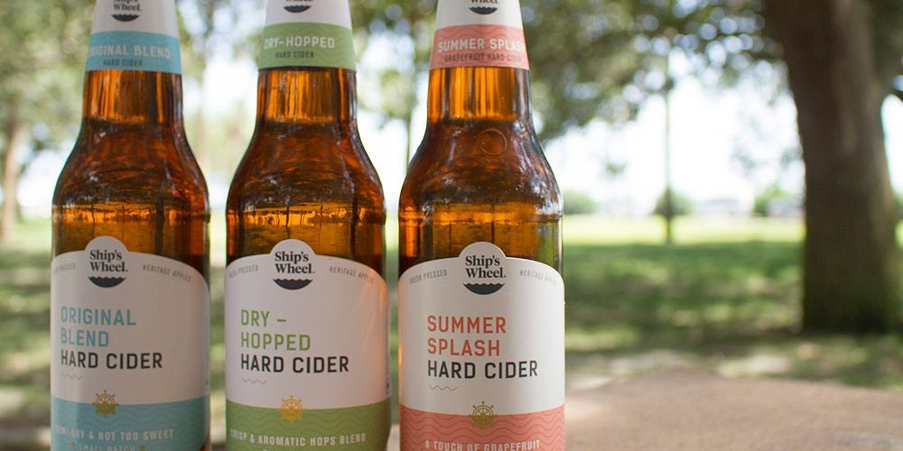 ships wheel hard cider