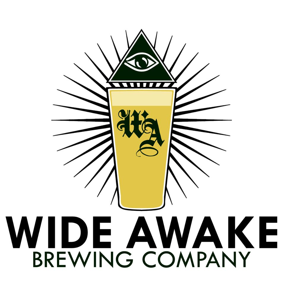 Wide awake brewing logo